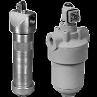 Фильтры напорные с индикатором загрязненности ФГМ