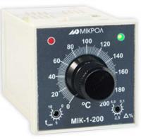 Общий вид регулятора температуры МИК-1-200