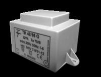 Фото Малогабаритный трансформатор для печатных плат ТН 48/16 G