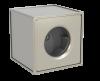 Вентилятор канальный радиальный квадратный каркасно-панельный с ЕС-двигателем Канал-КВАРК-КП-ЕС фото 1