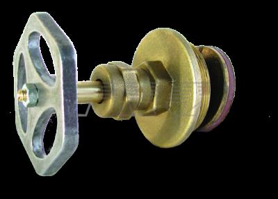 Вентильные головки латунные для вентилей 15Б 3р для воды и пара с маховиком