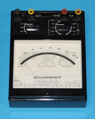 Переносной многодиапазонный вольтамперметр М2051