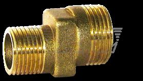 Патрубок эксцентриковый латунь / никель