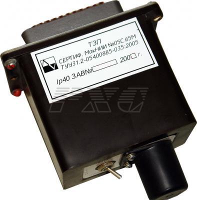 Блок токовой защиты от перегрузки типа ТЗП