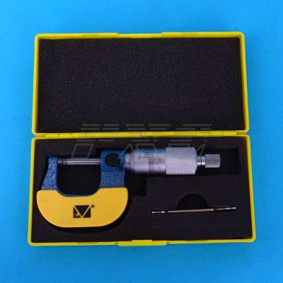 Микрометр гладкий повышенной точности в футляре