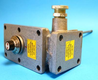 Терморегулятор ТУДЭ боковой вид фото2