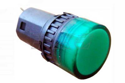 Фото арматуры светосигнальной AD16-16DS зеленая