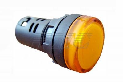 Фото арматуры светосигнальной AD22-22DS желтая 220 В DC