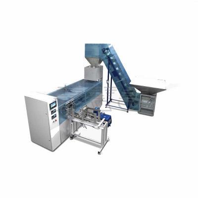 Автомат для фасовки сыпучих продуктов в картонные коробки фото 1
