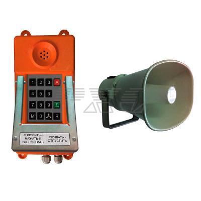 Фото переговорного устройства ТАШ-31ПА-IP (с номеронабирателем)