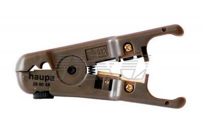 Фото инструмента для снятия изоляции на кабелях UTP-STP