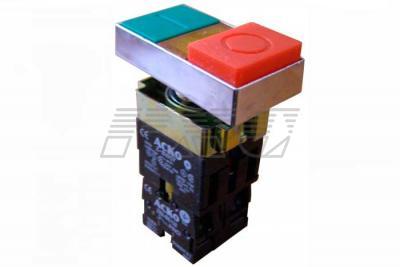 Фото кнопки двойной XB2-BW8365