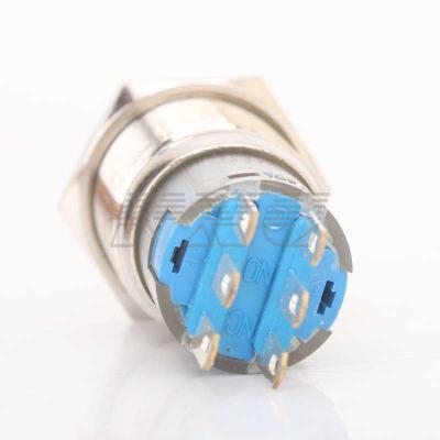 Кнопка металлическая TYJ 19-212 - фото 2