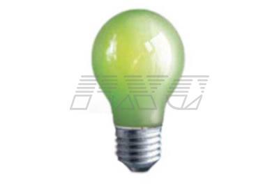 Фото лампы накаливания цветной в колбе А60 ДКЗЛ