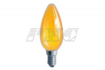 Фото ламп накаливания цветных в колбе В35