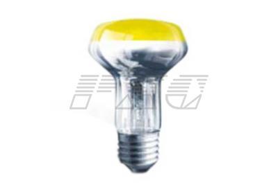 Фото лампы накаливания рефлекторной цветной ДRДЗ