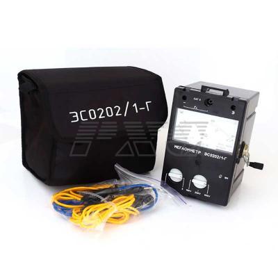 Мегаомметр ЭС0202 1Г в комплекте фото3