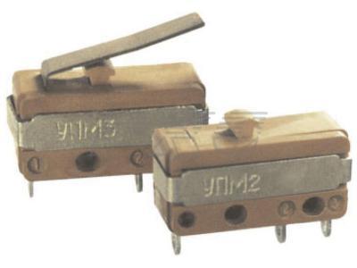 Фото микропереключателей типов УПМ2