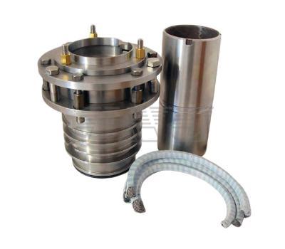 Уплотнительные устройства с самоцентрирующейся сальниковой коробкой для конденсатных насосов Кс