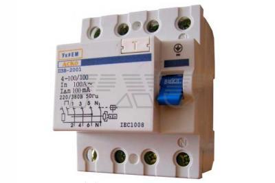 Фото устройства защитного отключения УКРЕМ ПЗВ-2001 4р-100А-100мА АСКО