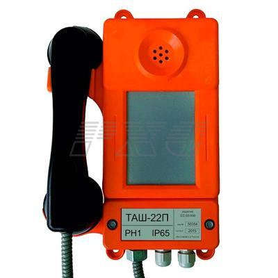 Внешний вид аппарата телефонногоТАШ-22П (всепогодного)
