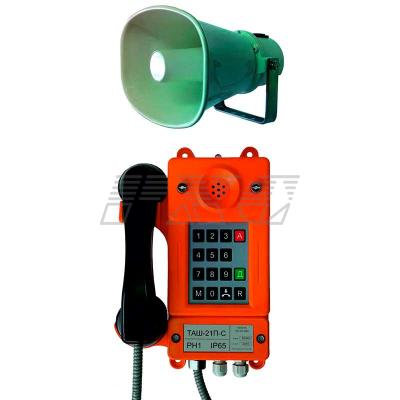 Внешний вид телефонного аппарата ТАШ-21П-С (всепогодного)