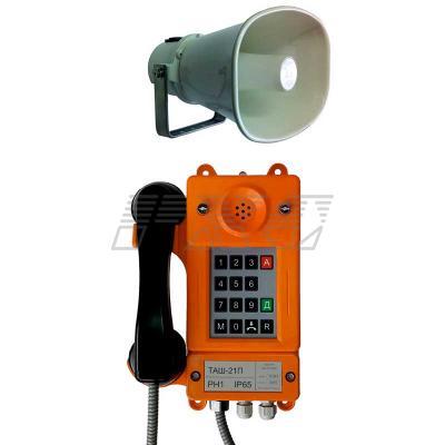 Внешний вил аппарата телефонного ТАШ-21ПА (всепогодного)