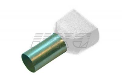 Фото втулочных оконцевателей с изоляцией для 2-х проводников 270778-270799