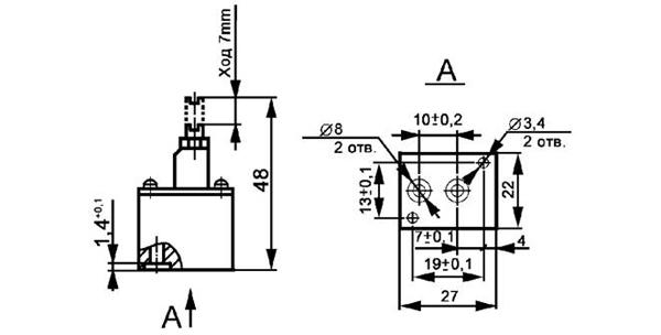 Пропускная способность через обратный клапан при закрытом...  0,115.  0,055.